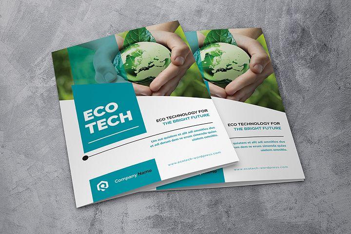 01 Eco Technology Bifold Brochure