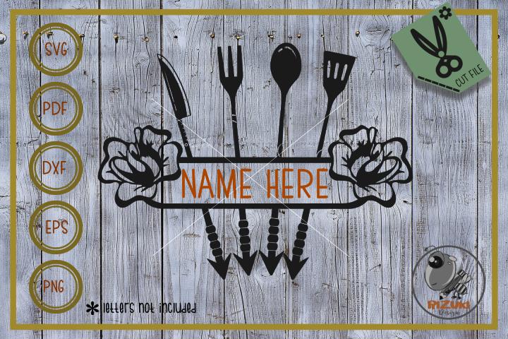 Border svg, Arrow Restaurant svg, instant download, Cut file