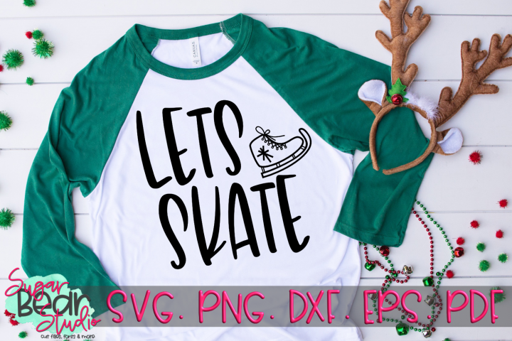 Lets Skate - A Winter SVG