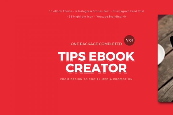 Tips eBook Creator with Instagram and Youtube Kit