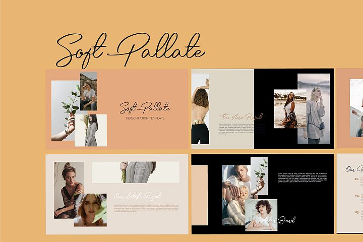 Soft Pallate Dark - Fashion Powerpoint