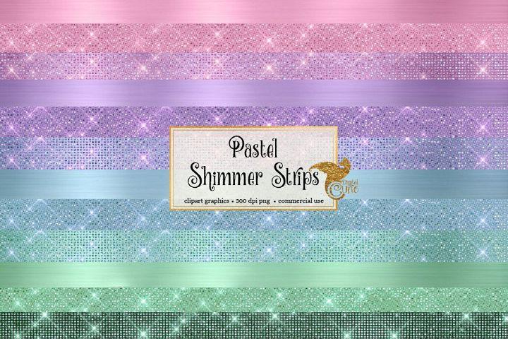 Pastel Shimmer Strips