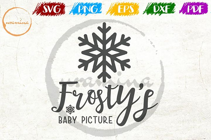 Frosty Christmas SVG PDF PNG