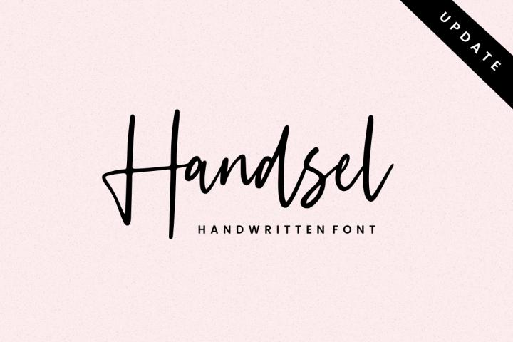 Handsel - Handwritten Font
