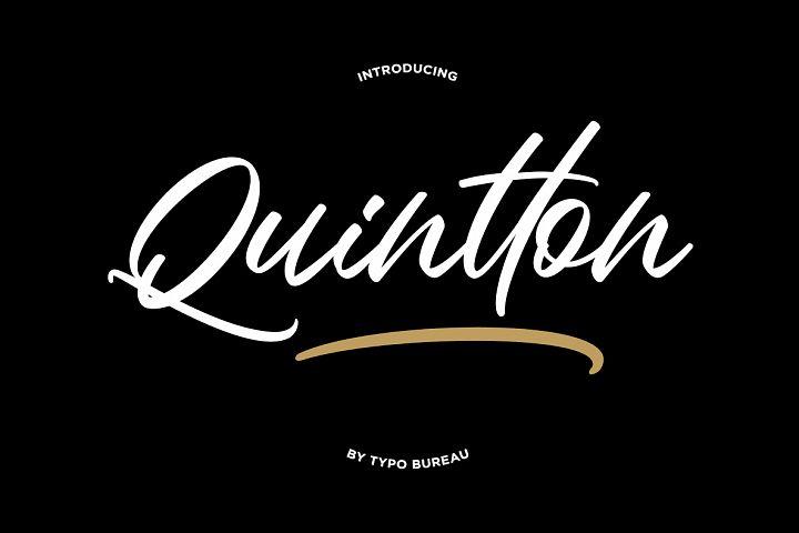Quintton Script