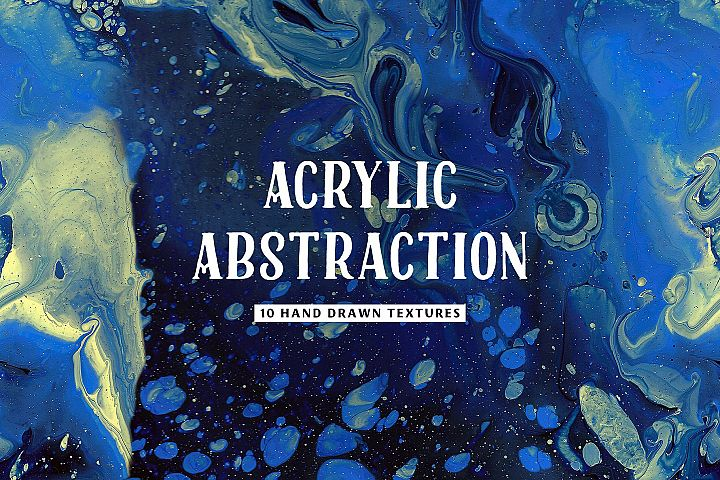Acrylic Abstraction Textures