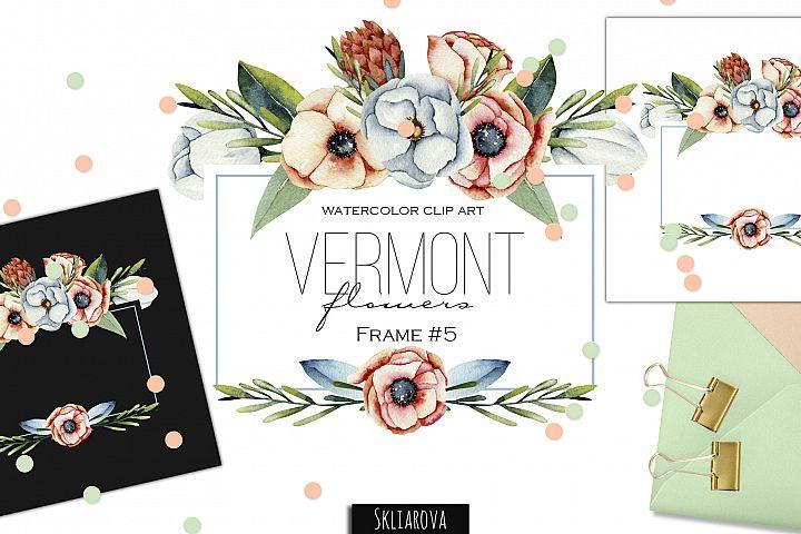 Vermont flowers. Frame #5