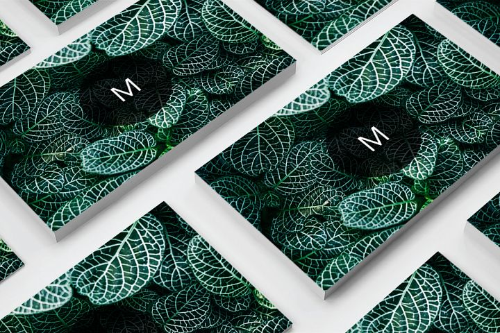 Modern Pattern Texture Beautiful Professional Art Business Card