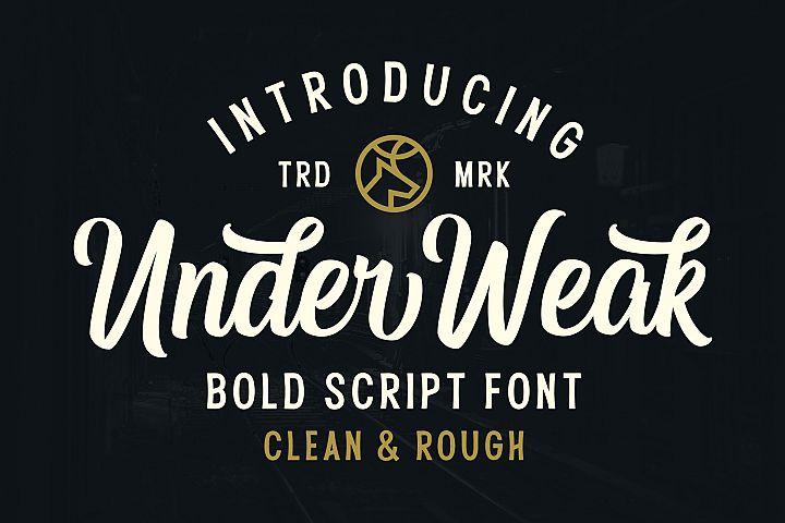 Under Weak Font