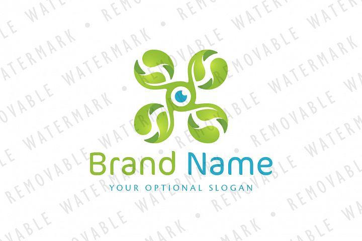 Green Drone Logo