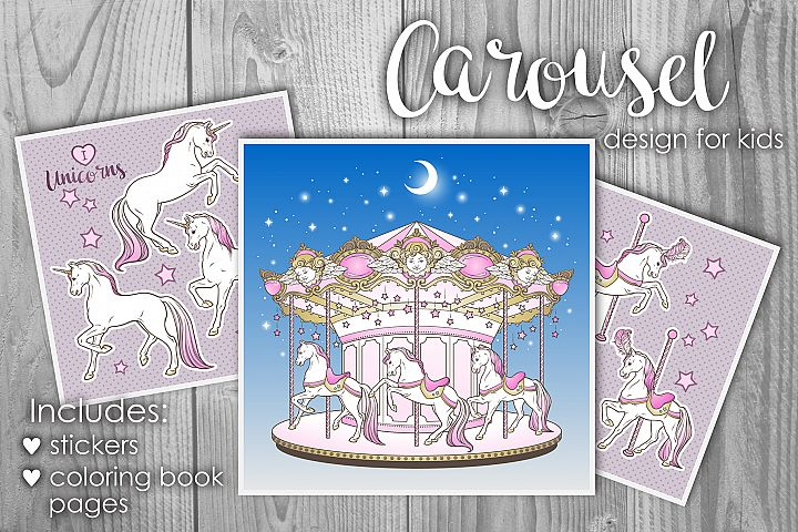 Carousel design for kids
