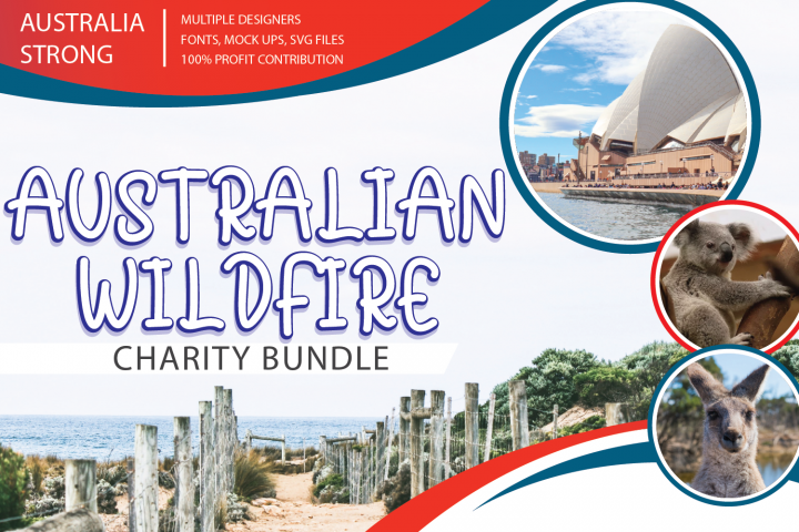 Australian Wildfire Charity Bundle 37 files/bundles
