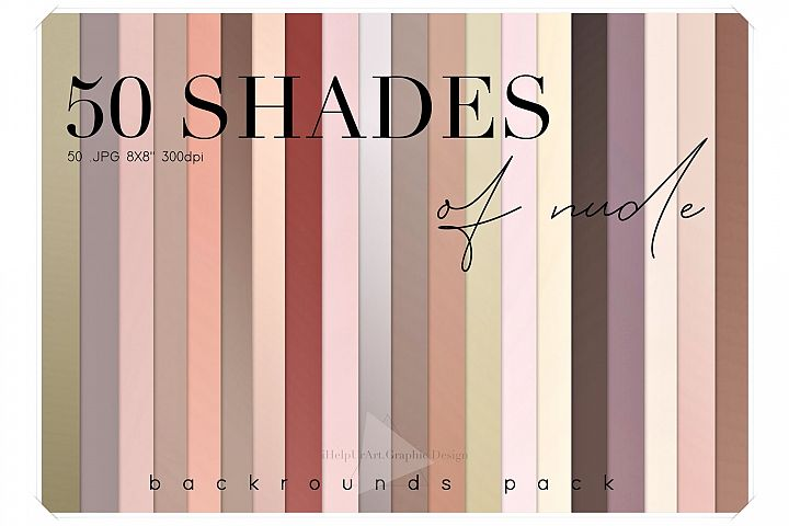 50 Mute Colors Gradient Baclrounds Pack