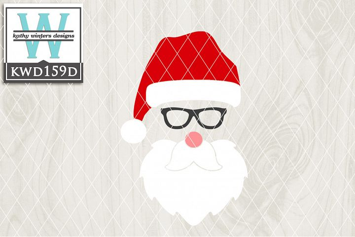 Christmas SVG - Santa KWD159D