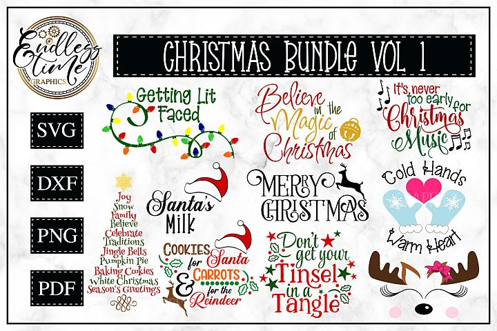 Christmas Bundle Volume 1 - Free Design of The Week