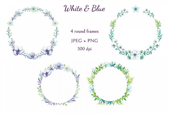 White and Blue - Free Design of The Week Design0