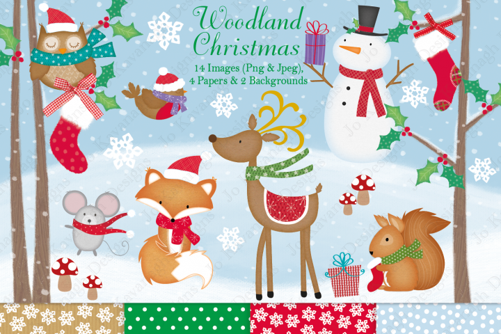 Christmas clipart, Christmas graphics & illustrations - Free Design of The Week