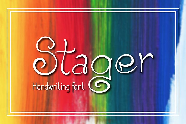 Stager Font