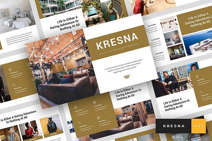 Kresna - Hotel Google Slides Template