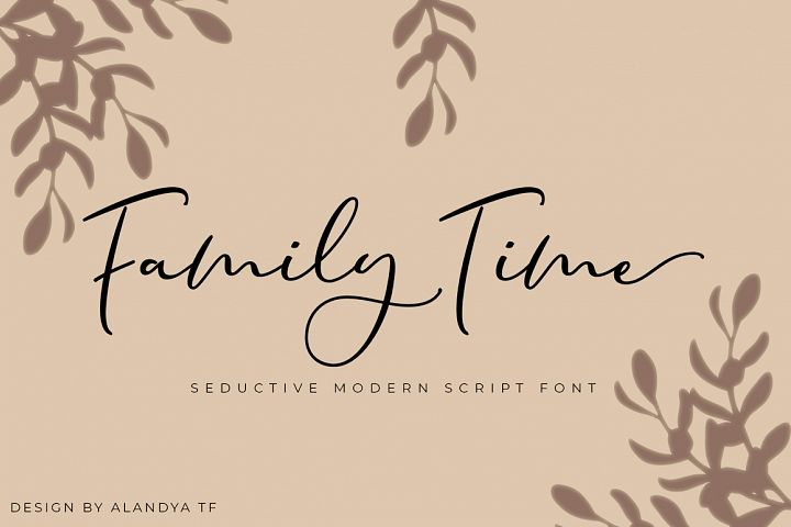 Family Time script
