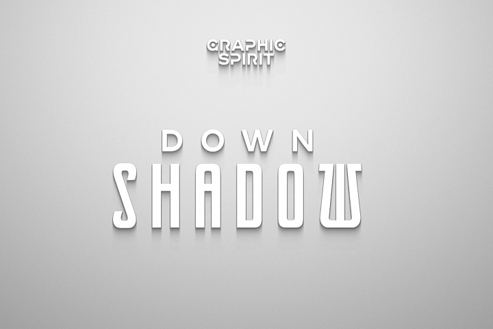 Laconic Long Shadow for Photoshop example 4