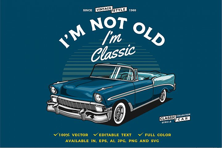 Classic car single