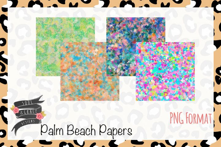 Palm Beach Digital Paper
