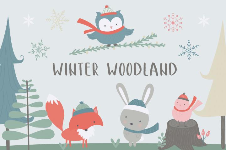 Winter Woodland pack