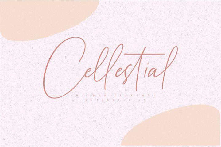Cellestial // Handwritten Font