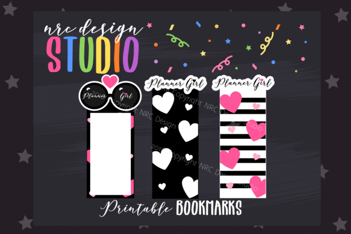 Planner Girl Bookmark, Planner Printable