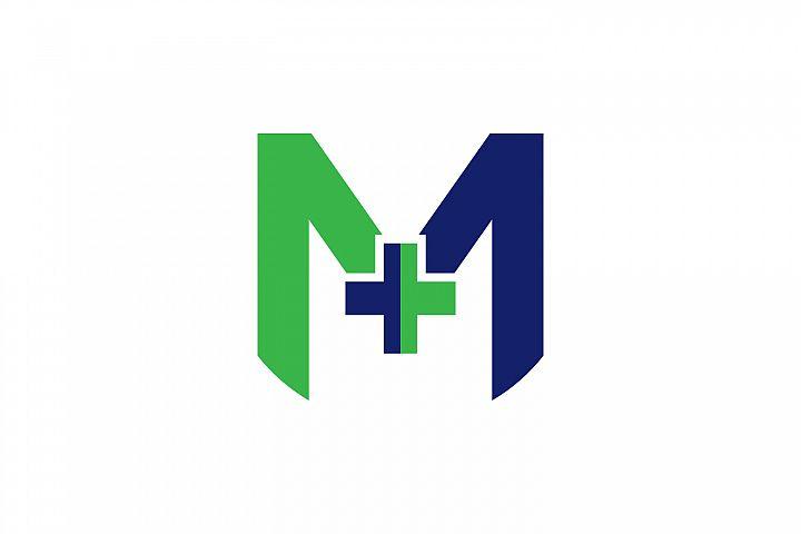 m letter hospital logo