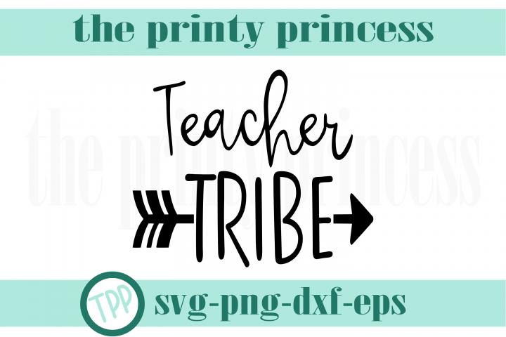 Teacher Tribe svg, Teacher svg design file