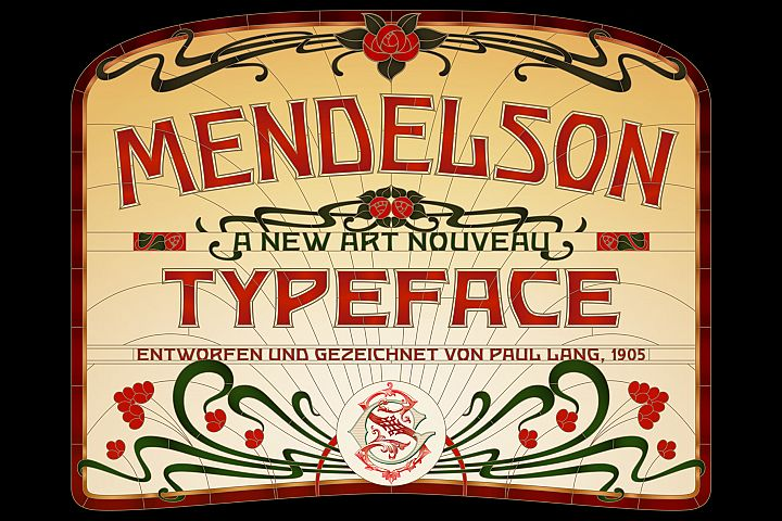 Mendelson Typeface