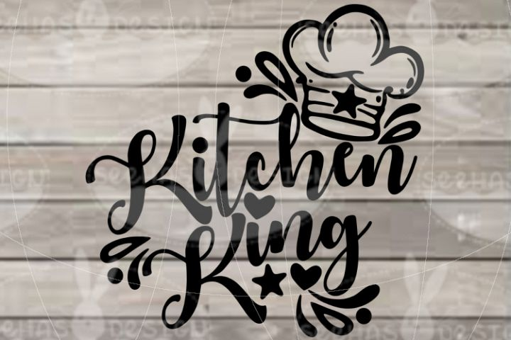 File Kitchen King SVG EPS PDF