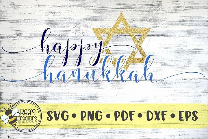 Happy Hanukkah SVG
