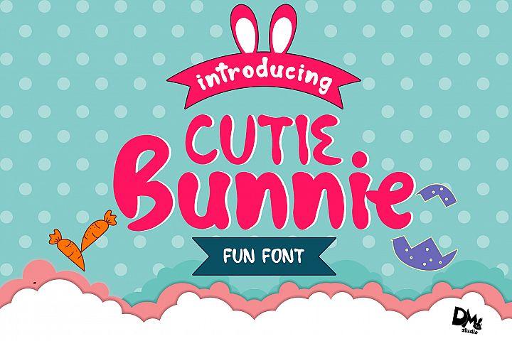Cutie Bunnie - Fun Font