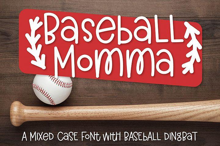 Baseball Momma - A Font Duo