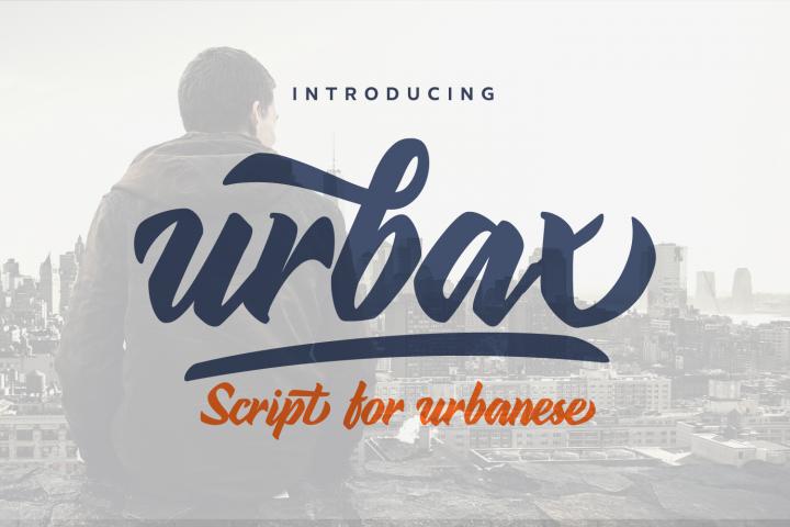 Urbax Script Font