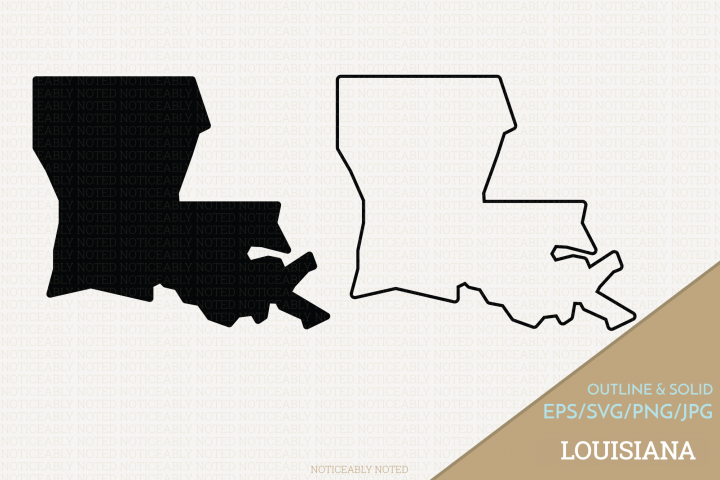 Louisiana Vector / Clip Art