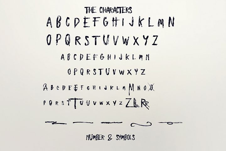 Zombies - Free Font of The Week Design3