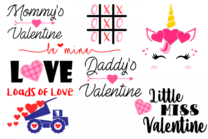 VALENTINE 2 BUNDLE SVG File
