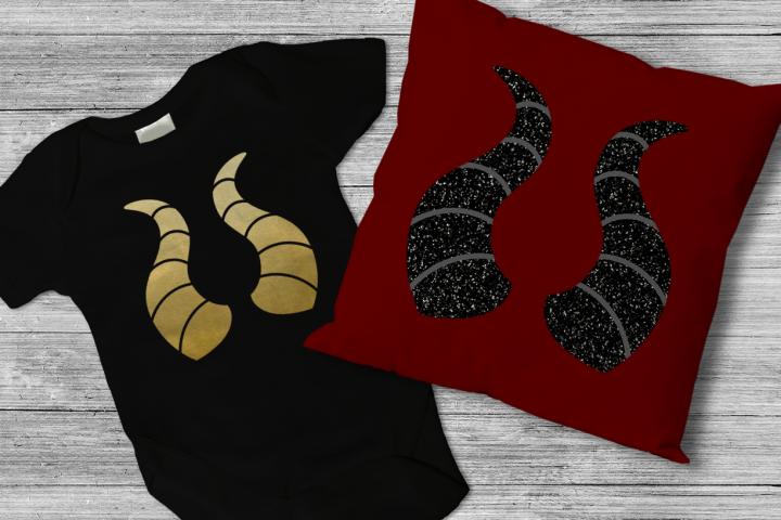 Dragon Horns SVG File