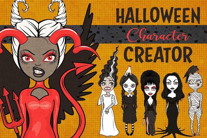 Halloween Girls Character Creator