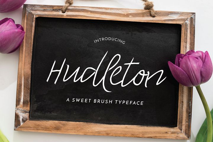 Hudleton Typeface
