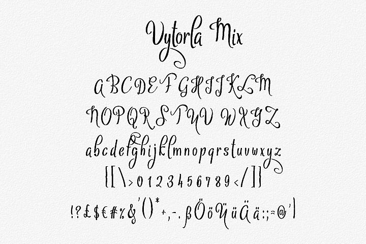 Vytorla Font Trio example image 4
