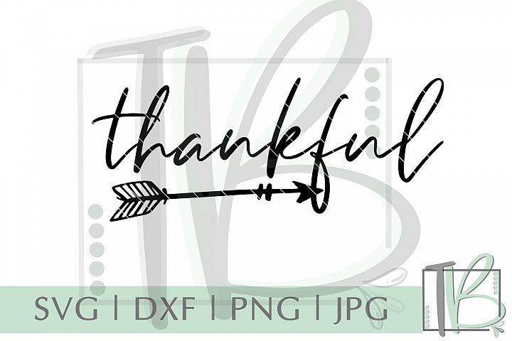 Thankful SVG, Arrow SVG example 2