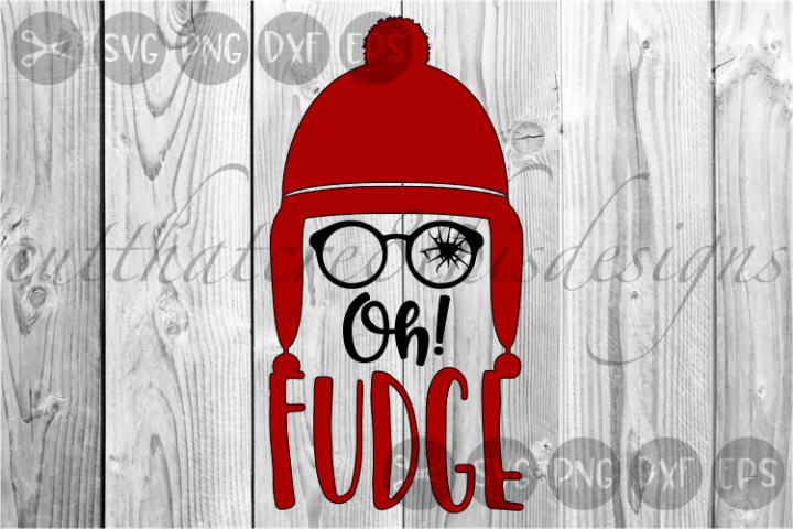 Oh Fudge, Winter Hat, Classic, Christmas, Cut File, SVG
