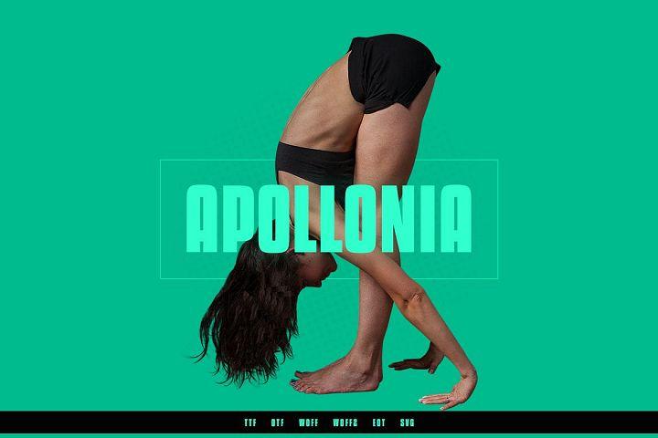 Apollonia Modern Typeface WebFonts
