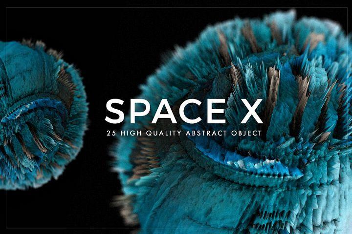 Space X Textures - Volume 1