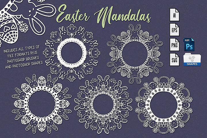 Easter Mandala Craft Files